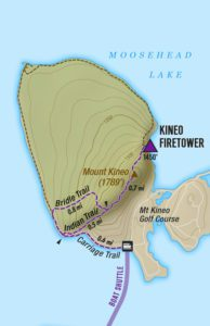 Kineo Hiking Trails