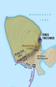Kineo Hiking Trails